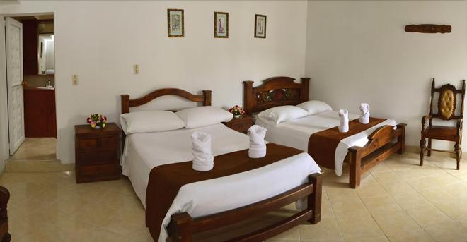 Hotel La Villa Del Virrey - Villa de Leyva - Bedroom