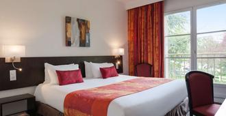 La Berteliere, The Originals Relais (Qualys-Hotel) - Saint-Martin-du-Vivier - Phòng ngủ