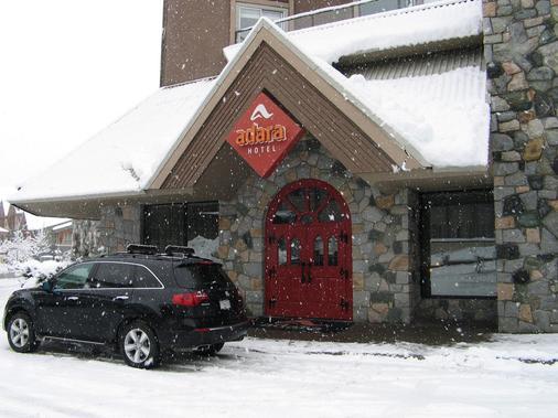 Adara Hotel - Whistler - Hotellin sisäänkäynti
