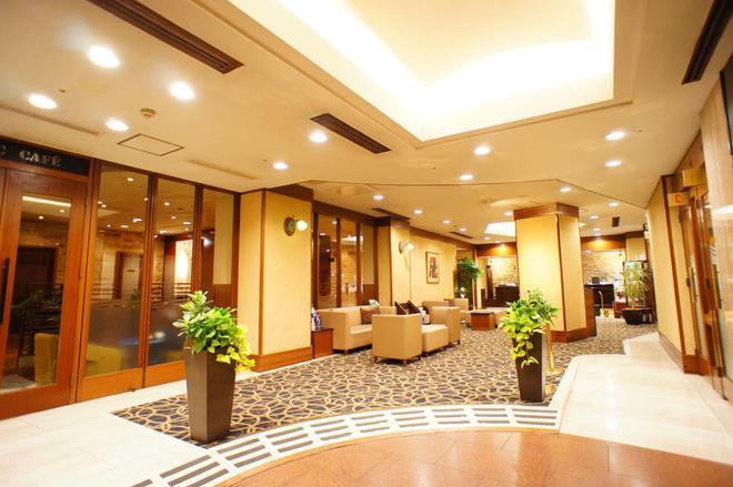 Kobe Plaza Hotel - Kobe - Lobby