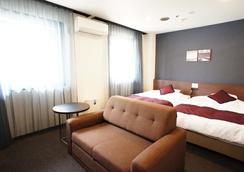 Kobe Plaza Hotel - Kobe - Bedroom