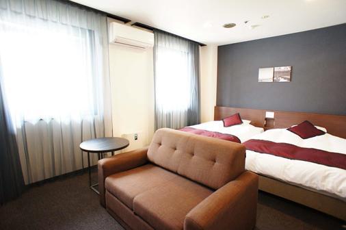 Kobe Plaza Hotel - Kobe - Phòng ngủ
