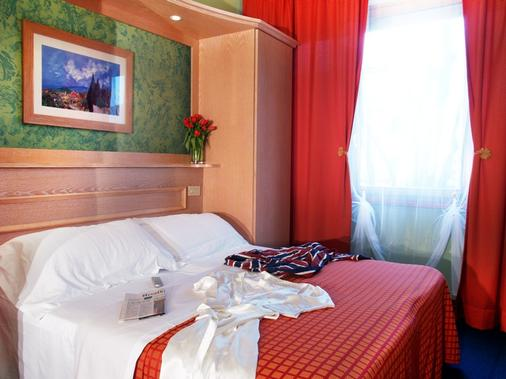Hotel Meridiana - Florence - Phòng ngủ