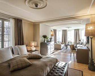 Le Grand Bellevue - Gstaad - Wohnzimmer
