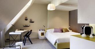 Hotel Continental Park - Lucerne - Bedroom