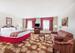 Hawthorn Suites by Wyndham Akron/Seville - Seville - Schlafzimmer