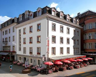 โรงแรม ไวส์เซสครอยซ์ - อินเตอร์ลาเคน - อินเทอร์ลาเค่น - อาคาร