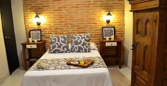 Hotel Casa de la Trinidad - קרטחנה דה אינדיאס - חדר שינה