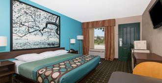 Super 8 by Wyndham Brunswick/South - Brunswick - Bedroom