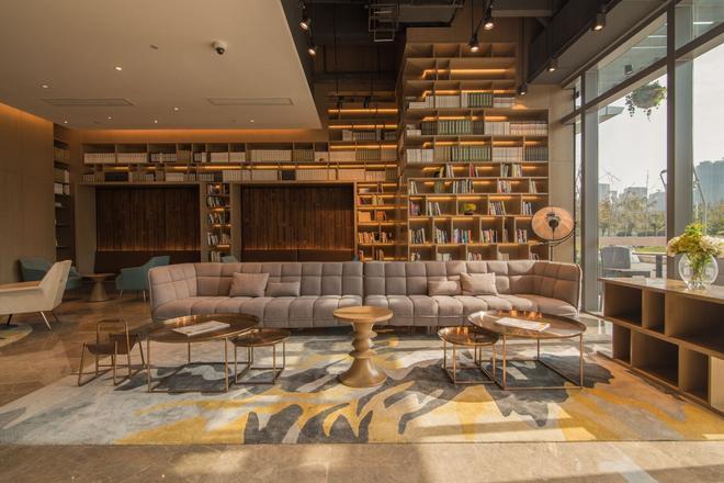 Auraya By Suning Nanjing Hexi - Nankín - Sala de estar