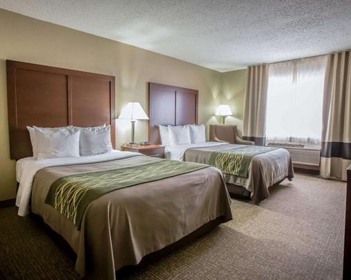 Comfort Inn Morris I-80 - Morris - Bedroom