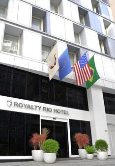 Royalty Rio Hotel - Rio de Janeiro - Edifício