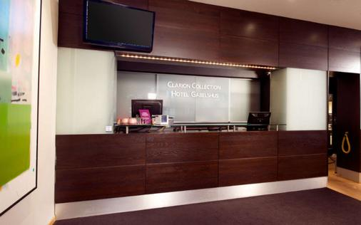 Clarion Collection Hotel Gabelshus - Oslo - Vastaanotto