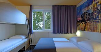 B&B Hotel Frankfurt City-Ost - פרנקפורט אם מיין - חדר שינה