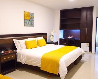 Hotel San Jose Plaza - Bucaramanga - Bedroom