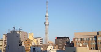 Tokyo-W-Inn Asakusa - Hostel - Tokyo - Outdoors view