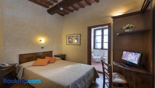 Hotel Italia - Cortona - Bedroom