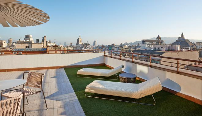 NH Collection Barcelona Gran Hotel Calderón - Barcelona - Kattoterassi