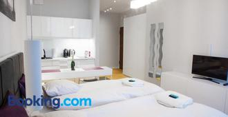 Triton Apartments in Warsaw near Airport - Warsaw - Phòng ngủ