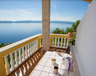 Beach Side Brela - Brela - Balkon