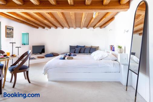 維斯利科斯酒店 - 聖托里尼 - 易莫洛林 - 臥室
