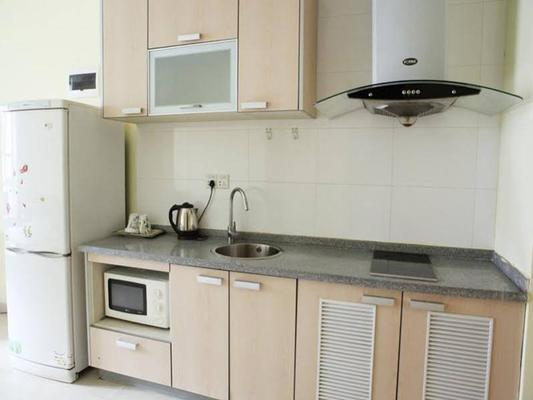 南京365酒店公寓(新街口城開國際店) - 南京 - 廚房