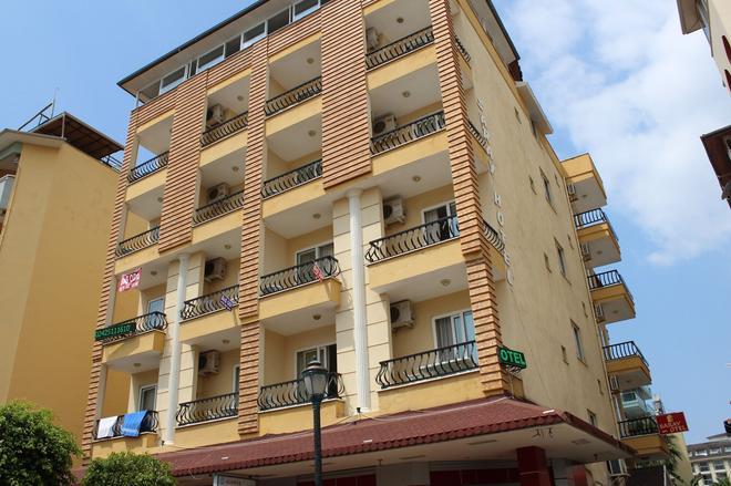 Kleopatra Saray Hotel - Alanya - Rakennus