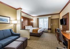 Comfort Suites - Galveston - Makuuhuone