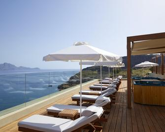 Lindos Blu Luxury Hotel & Suites - Adults Only - Lindos - Byggnad