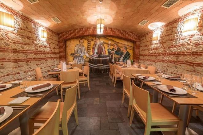 阿爾巴尼青年旅舍 - 里昂 - 萊昂 - 餐廳