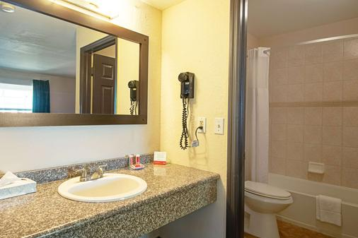 Econo Lodge Inn & Suites - Clearwater - Bathroom