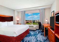 Fairfield Inn and Suites by Marriott Indianapolis Downtown - Indianapolis - Bedroom