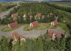 Fossatun Camping Pods & Cottages - Sleeping Bag Accommodation - Borgarnes - Buiten zicht