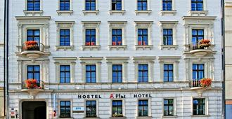 A Plus Hotel & Hostel - Praga - Edificio
