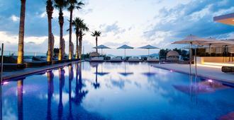 Aqua Blu Boutique Hotel & Spa - Adults Only - קוס - בריכה