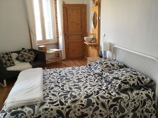 Hôte Du Couzan - Sail-sous-Couzan - Bedroom