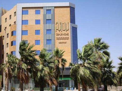 Obhur Home Hotel Apartments - Jeddah - Building