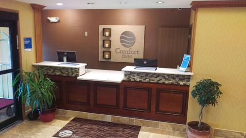 Comfort Inn - Huntington - Rezeption