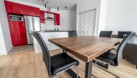 Aux Havres Urbains - Le Penthouse du Kameleon - Québec City - Kitchen