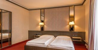 هوتل مونوبول - لوسرن - غرفة نوم