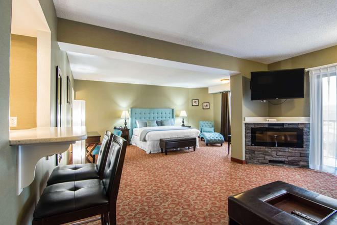 Quality Hotel - Drumheller - Bedroom