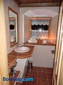 Berghof Moar - Unterwössen - Bathroom