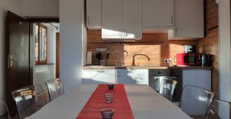 Alpendohle Apartments - Innsbruck - Kitchen