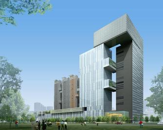 Ln Dongfang Hotel Financial Center, Foshan - Fo-šan - Building