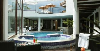 Hotel Meson De Los Virreyes - Villa de Leyva - Piscina