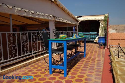 Red Castle Hostel - Backpacker - Marrakesh - Balcony
