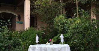 La Casa Rosada - Copán - Innenhof