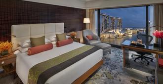 新加坡文華東方酒店 - 新加坡 - 臥室