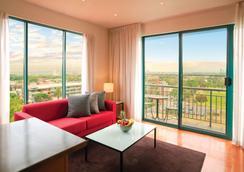 Adina Apartment Hotel St Kilda Melbourne - Melbourne - Wohnzimmer