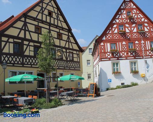 Hotel-Restaurant Stern - Geiselwind - Gebäude
